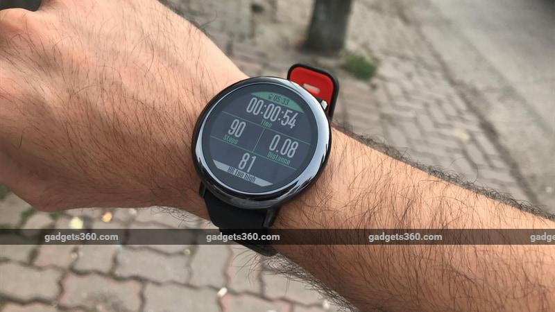 Amazfit Pace Review Ndtv Gadgets360 Com