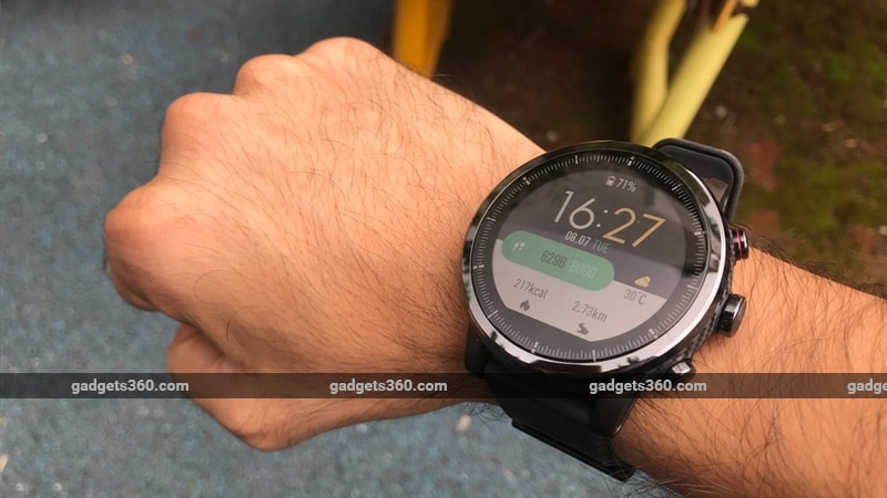 Amazfit Stratos Review | NDTV Gadgets360 com