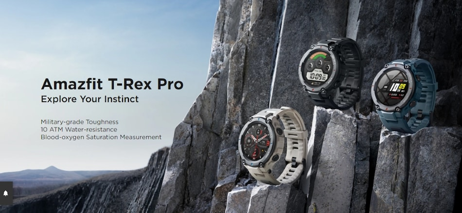 Amazfit T-Rex Pro With 18-Day Battery Life, Auto Workout Recognition Feature Launched in India