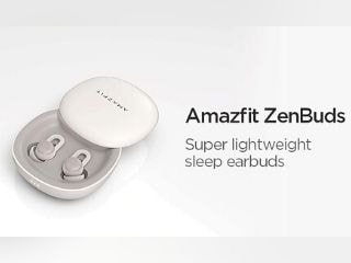 Amazfit Zenbuds TWS Earbuds With 12-Hour Battery Life, Auto Sleep Detection Launched on Indiegogo