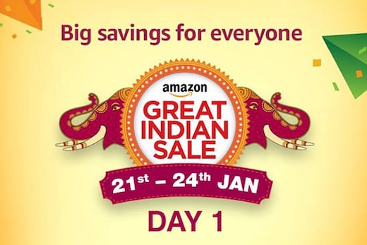 Day 1 of The Amazon Great Indian Sale Offer, 21st-24th Jan 2018, Check for Best Deals and Offers of the Amazon Great Indian Sale here!