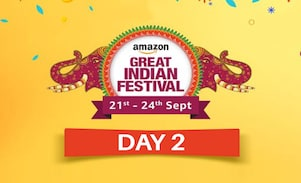 Day 2 of The Amazon Great Indian Festival Sale Offer, Sept 21st-24th 2017, Check for Best Deals and Offers of the Amazon Great Indian Sale here!