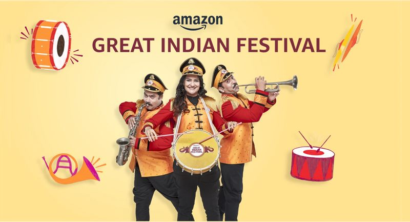 Amazon Great Indian Festival Sale Begins for Prime Members