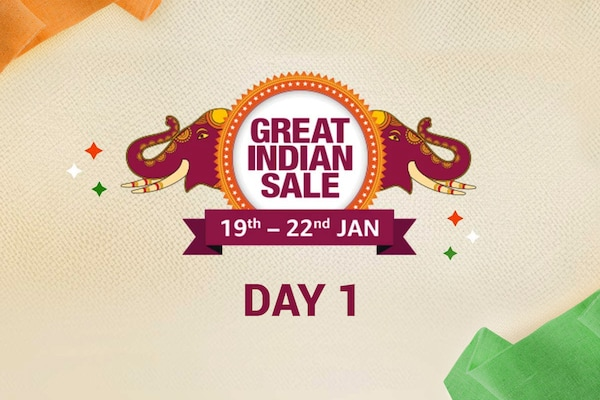 Day 1 of The Amazon Great Indian Sale Offer, 19th-22nd Jan 2020, Check for Best Deals and Offers of the Amazon Great Indian Sale here!