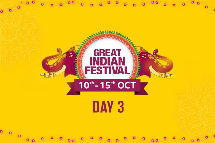 Day 3 of The Amazon Great Indian Festival Sale Offer, 10th-15th October 2018, We have Handpicked the Best Deals from The Amazon Great Indian Festival Sale