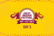 Day 5 of The Amazon Great Indian Festival Sale Offer, 10th Oct-15th Oct 2018