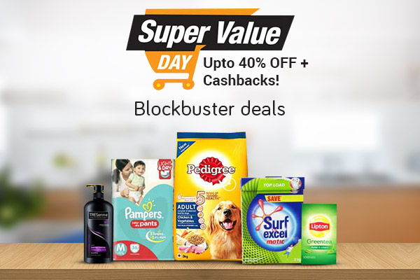 Amazon Super Value Day Sale, Offers (1st- 7th Decmber): Upto 35% OFF + 5% Amazon Pay And 15% CASHBACK On SBI Debit/Credit Card