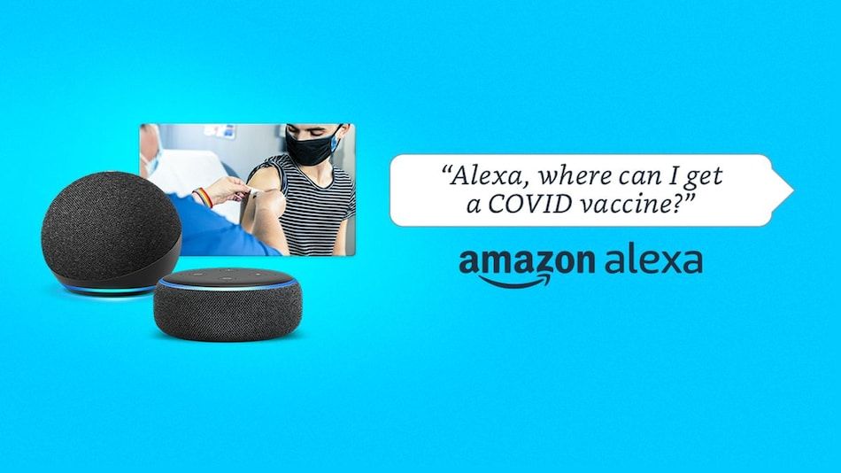 Alexa Can Now Locate COVID-19 Vaccine and Testing Centres in India: Here's How