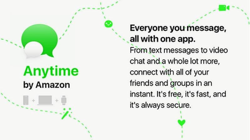 Amazon 'Anytime' Messaging Service Reportedly in the Works