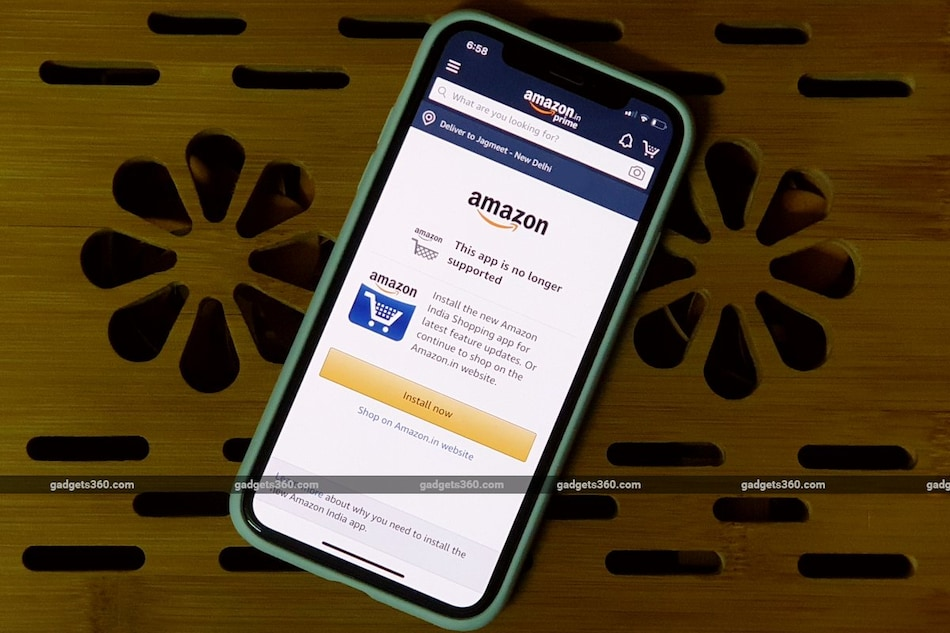 Amazon Disables Its Original iOS App in India, Customers Required to Switch to New App or Use Website