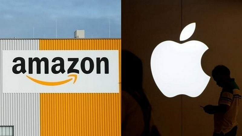 It's Amazon vs Apple in the Race to Be the First Trillion Dollar Company