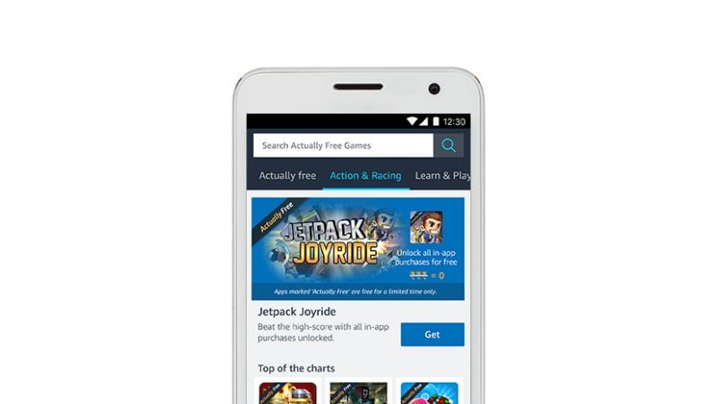 Amazon Appstore Offers 'Actually Free' Paid Games and In-App Purchases in India For Limited Period