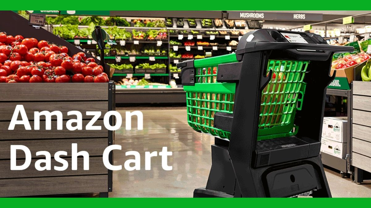 Amazon Dash Cart Unveiled, a Smart Shopping Cart That Knows What You're Buying