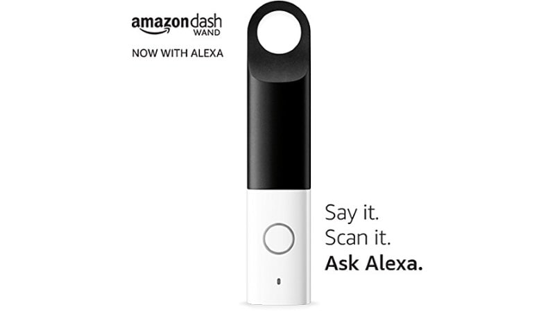 Amazon Adds Power of Alexa to Dash Wand's Ease of Ordering Products
