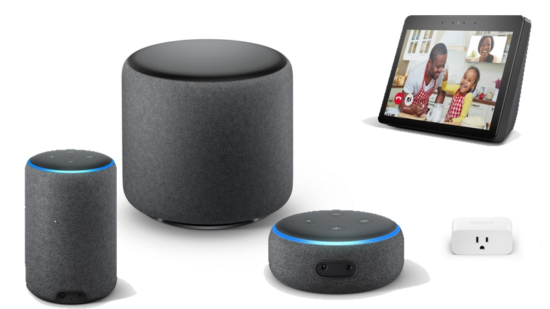 New Echo Speakers, Microwave, Wall Clock, and More: Everything Amazon Announced at Its Alexa Event