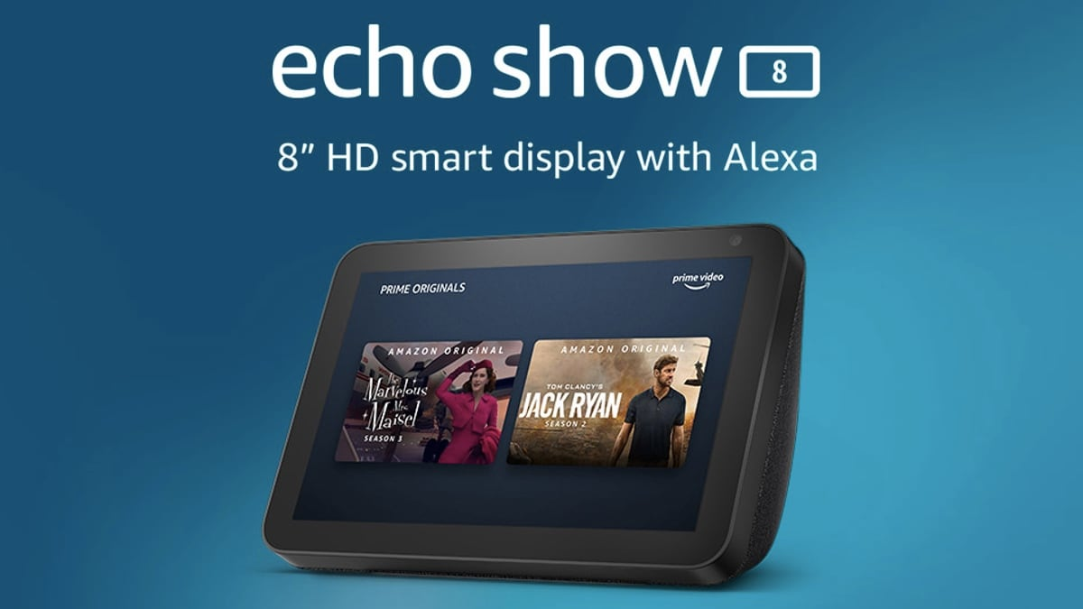 Amazon Echo Show 8 With 8-Inch Display Launched in India, Priced at Rs. 12,999