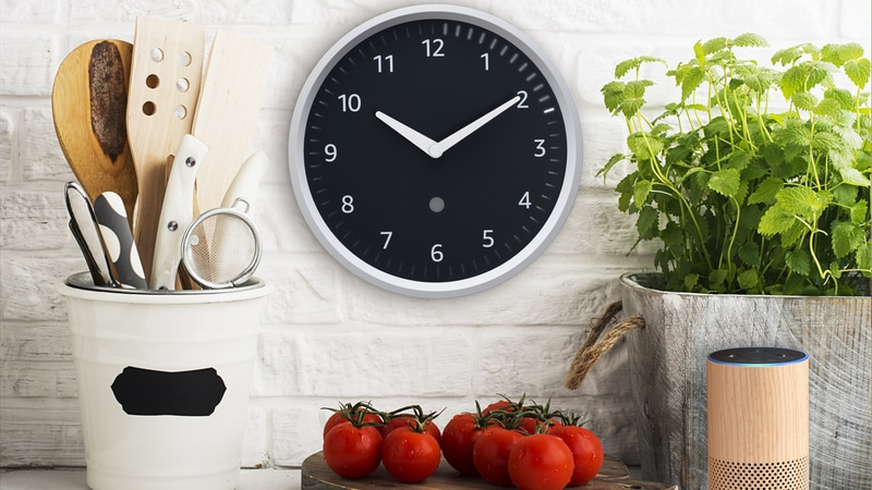 amazon echo wall clock press Echo Wall Clock