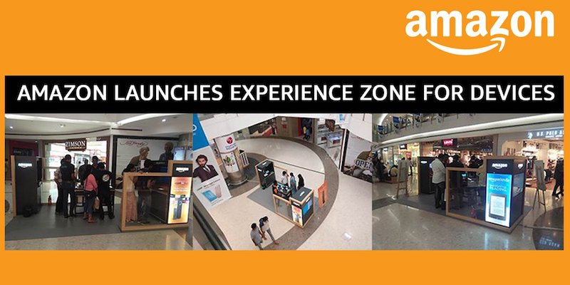 Amazon India Opens First Experience Zone to Showcase Kindle, Fire TV Stick