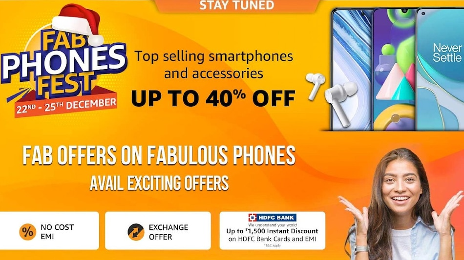 Amazon Fab Phones Fest Sale Begins on December 22; Brings Up to 40 Percent Off on Smartphones, Accessories
