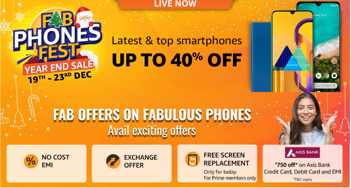 Amazon Fab Phones Fest Sale Begins: Price Cuts on OnePlus 7T, Redmi K20 Pro, OnePlus 7 Pro, and More Offers