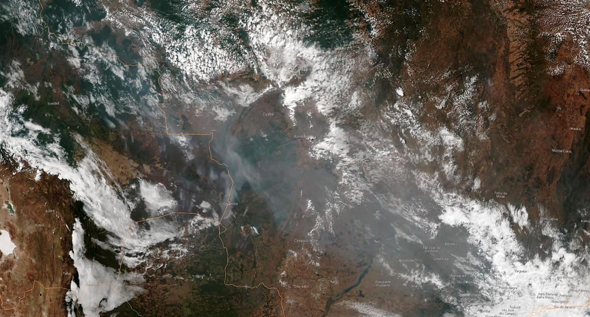 amazon fire rainforest afp noaa Amazon Rainforest Fire