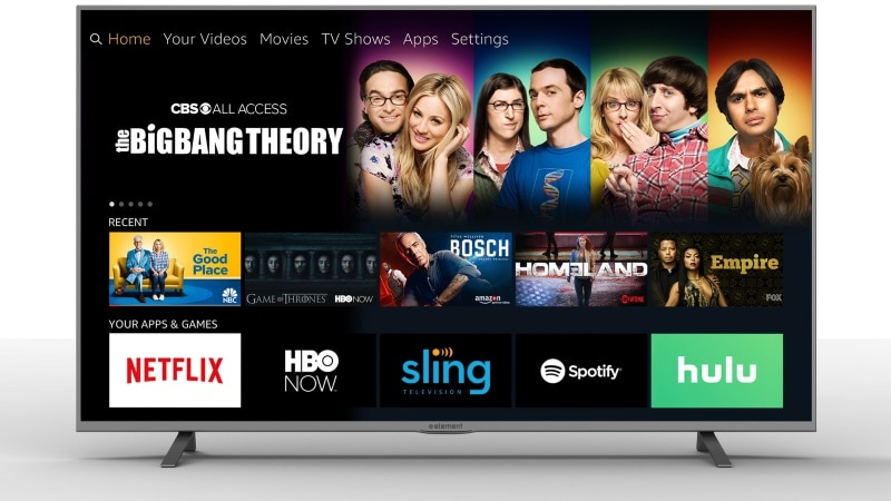 Amazon Fire TV Edition 4K Smart Televisions Unveiled by Element, Westinghouse