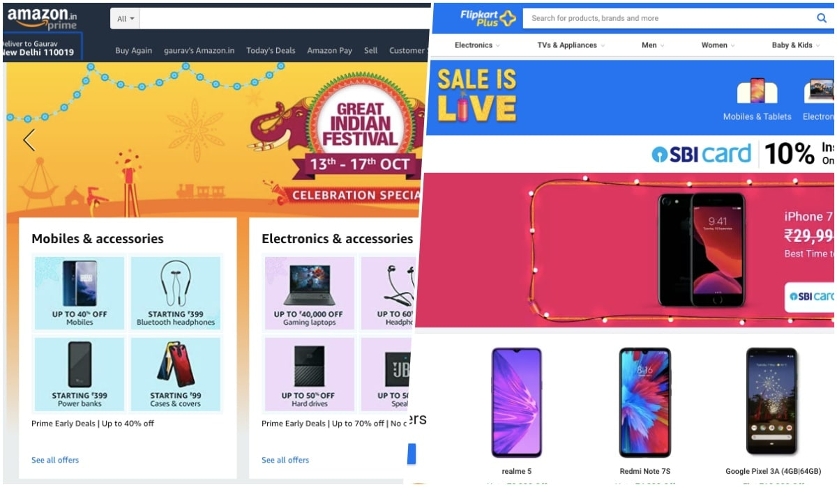 Amazon and Flipkart Sales, OnePlus 7T Pro Price Announcement, Redmi Note 8 Pro India Launch Date, and More Tech News This Week