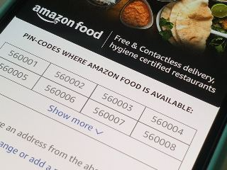 Amazon Food Delivery Service Expands to 62 PIN Codes in Bengaluru a Little Over 9 Months After Launch
