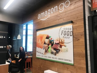 Amazon Opens Its First Cashier-Less Grocery Store in the US