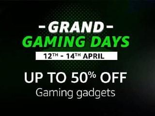 Amazon फिर लाई Grand Gaming Days Sale, लैपटॉप, मॉनिटर और गेम्स पर मिल रहा 50 से 65 प्रतिशत तक डिस्काउंट!