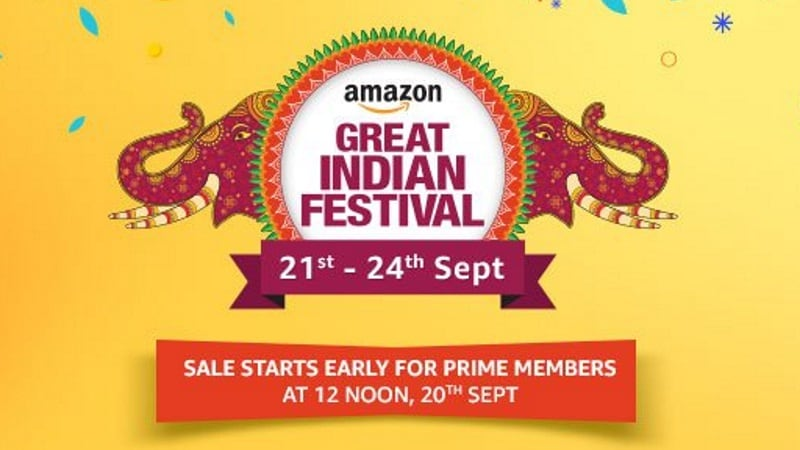 amazon great indian festival sale dates announced 500 offers u0026 up to 40 percent discount