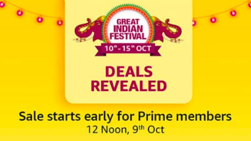 Amazon Great Indian Festival 2018 Sale Offers and Deals Previewed: Realme 1, Fire TV Stick, and More