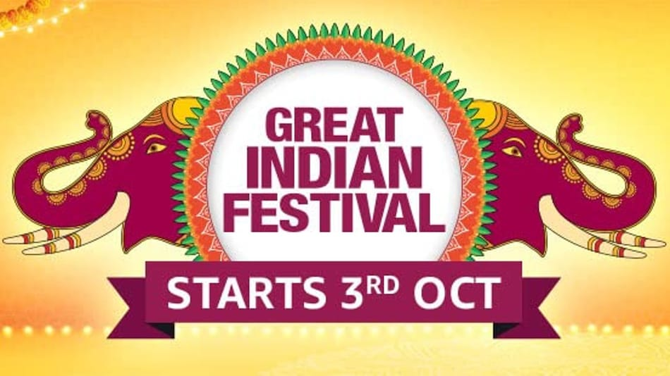 Amazon Great Indian Festival Sale 2021 Announced, Beginning October 3 as Month-Long Event