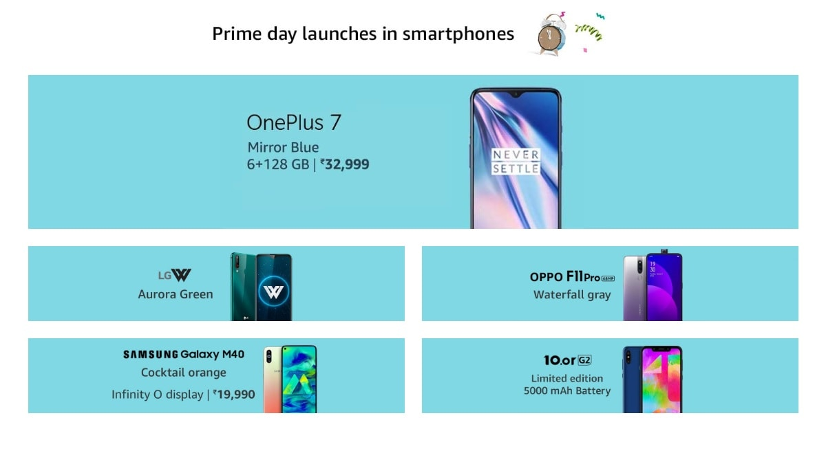 d9c1509f8769fa Amazon Prime Day Sale in India: OnePlus 6T, Redmi 6, and Other Mobile  Discounts, Offers Listed