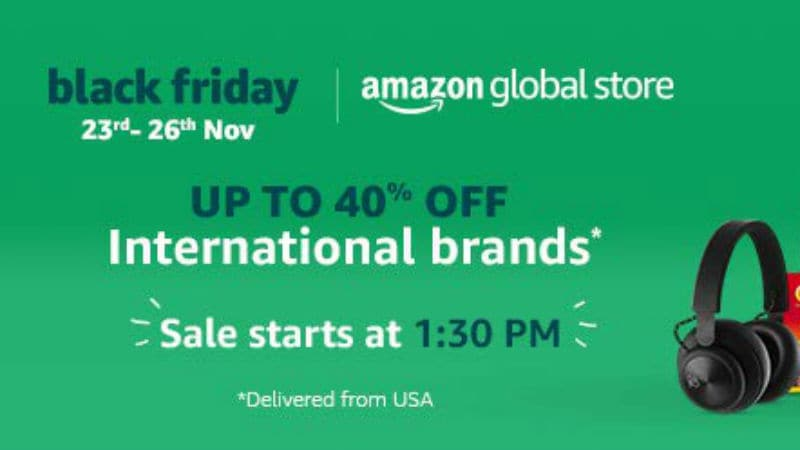 Black Friday Sale 2018: Amazon India Offers Deals, Discounts