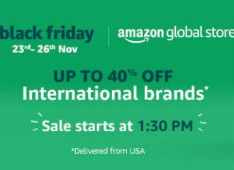 Black Friday Sale 2018: Amazon India Offers Deals, Discounts on International Brands