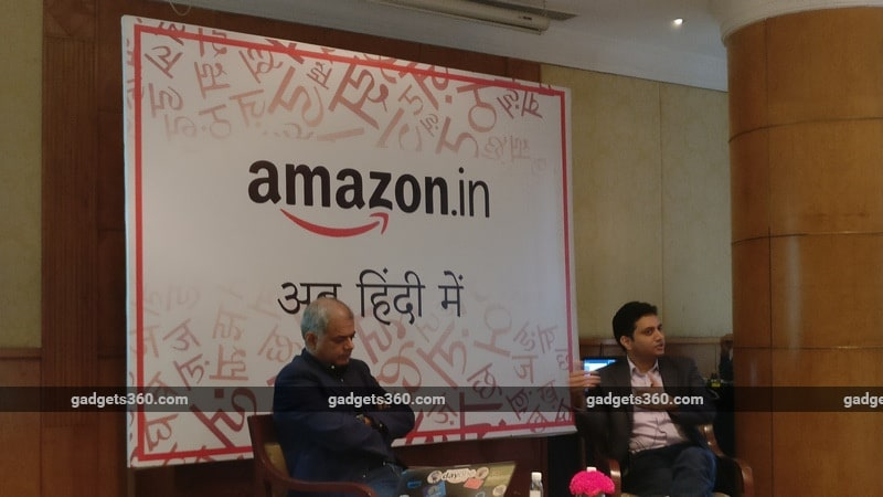 Amazon Unveils Hindi App As Flipkart Battle Heats Up