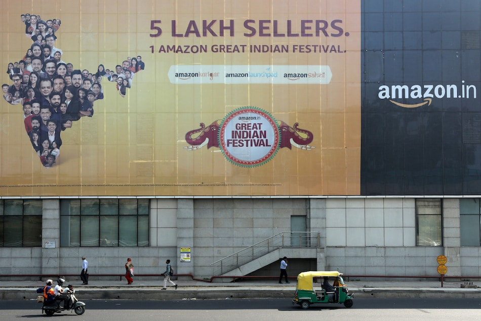 Amazon Could Be Hit as India Is Said to Plan Foreign Investment Rule Changes