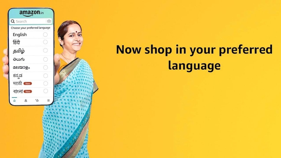 Amazon India Now Lets Customers Shop in Bengali, Marathi; Announces Hindi Voice Shopping Experience