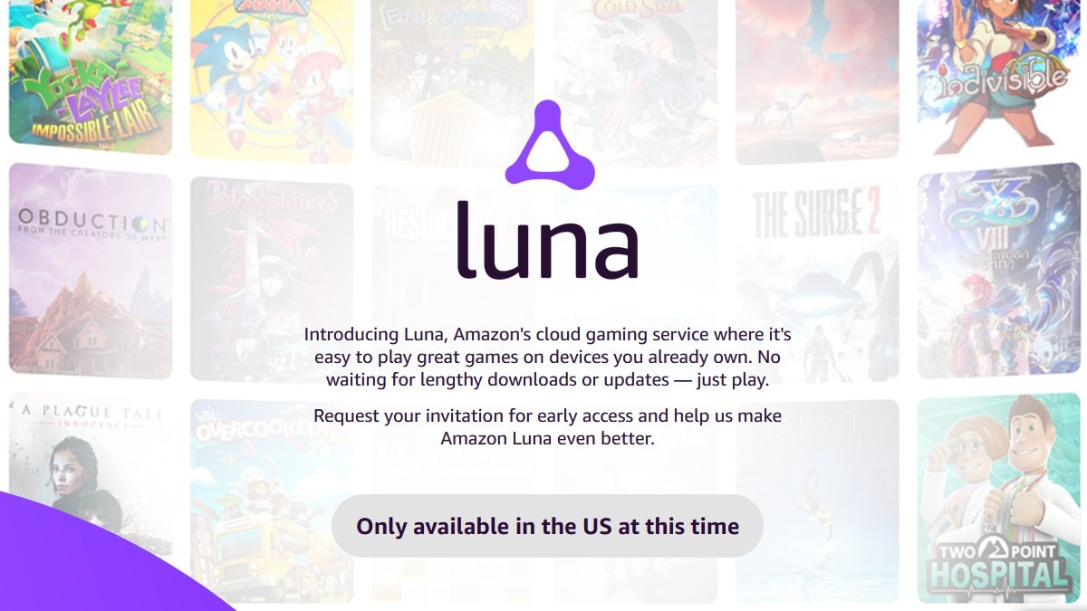 Amazon Luna Game Streaming Service Unveiled to Take on Google, Microsoft