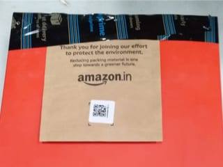 Amazon India Begins Shipping (Some) Items Without Cardboard Boxes