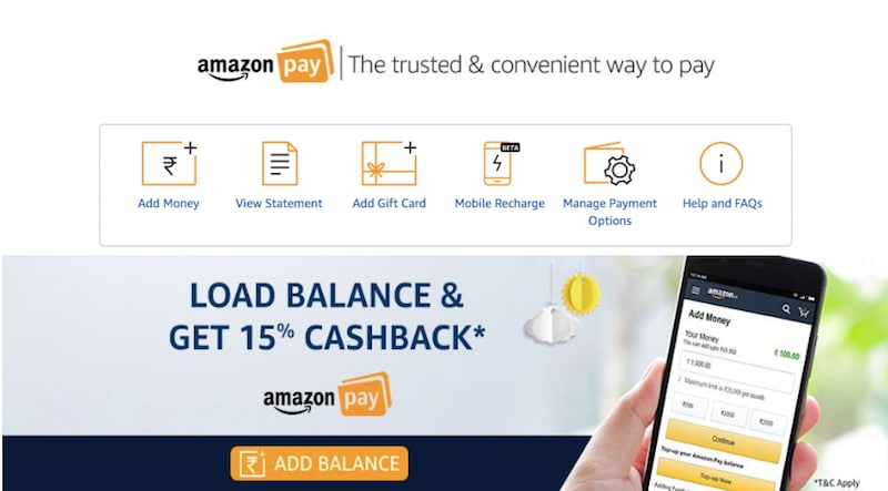Amazon Pay Balance Can Now Be Used for Mobile Recharges