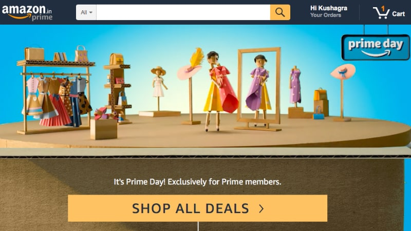 Amazon.in Prime Day Sale Day 2 Offers Deals on Mobiles, TVs, Amazon Kindle, Echo Dot, and More