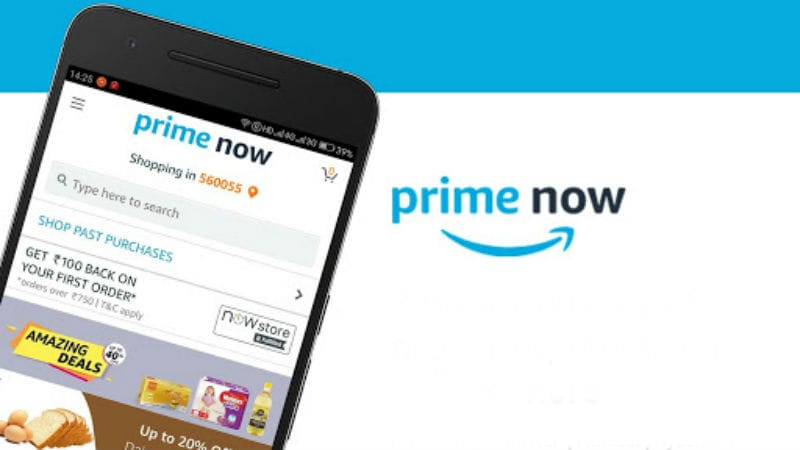 Amazon Now Rebranded as Prime Now in India, Prime Members Now Get 2-Hour Ultra-Fast Deliveries