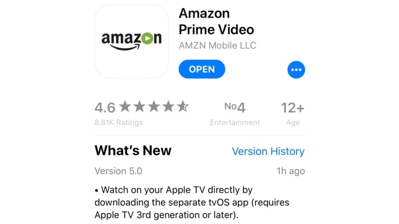 amazon prime video itunes amazon