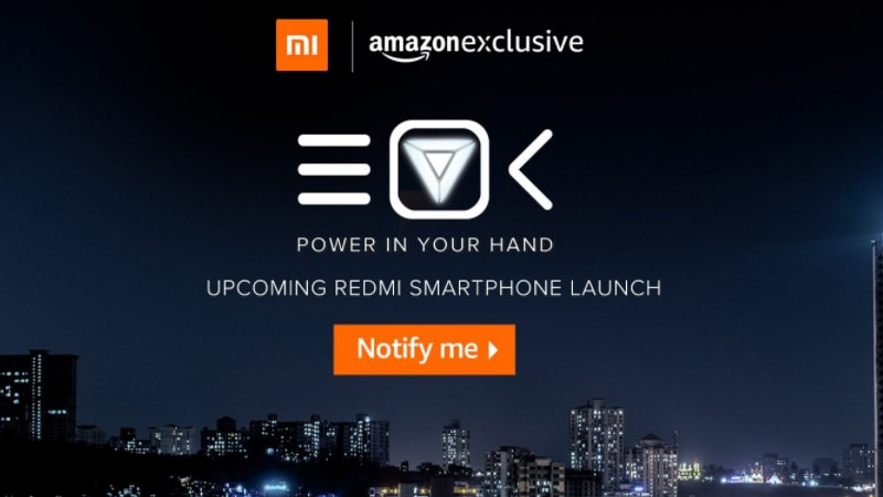 Xiaomi Redmi 4 Will Be an Amazon India-Exclusive at Launch, E-Commerce Site Teases