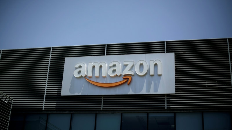Amazon shares climb on big Q1 earnings