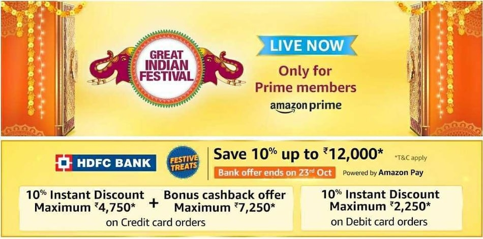 Amazon Great Indian Festival Sale 2020: The Best Deals Under Rs. 5,000