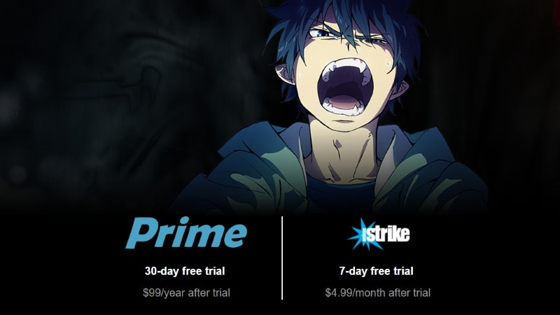 Amazon Anime Strike Video On-Demand Video Service Launched in the US