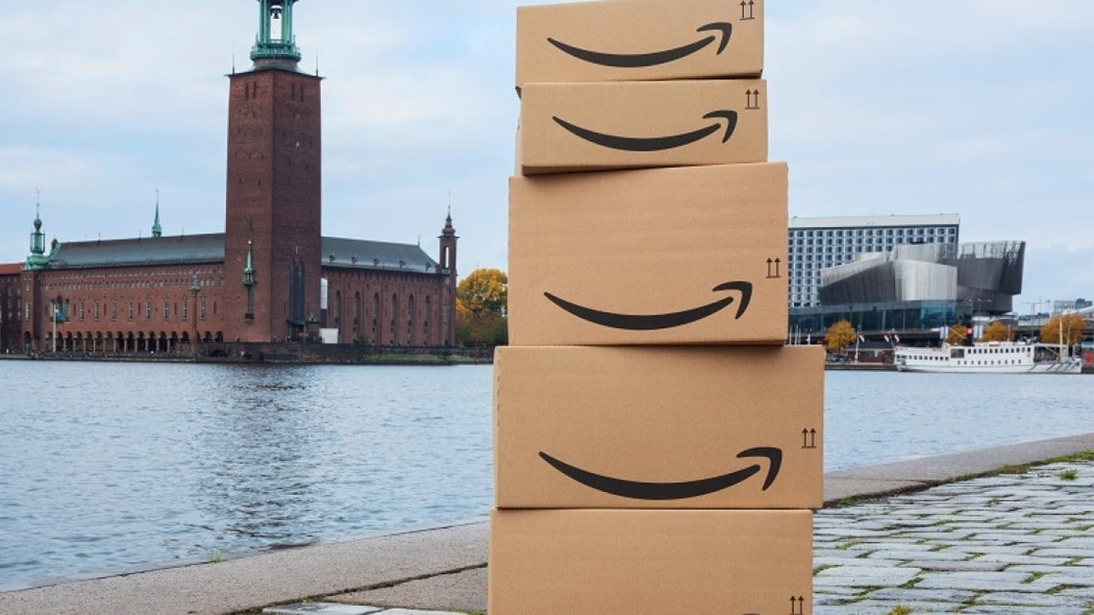 Amazon Website Launch Trips Over Faulty Swedish